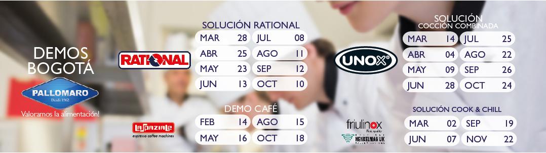 cursos y demos Pallomaro Bogotá