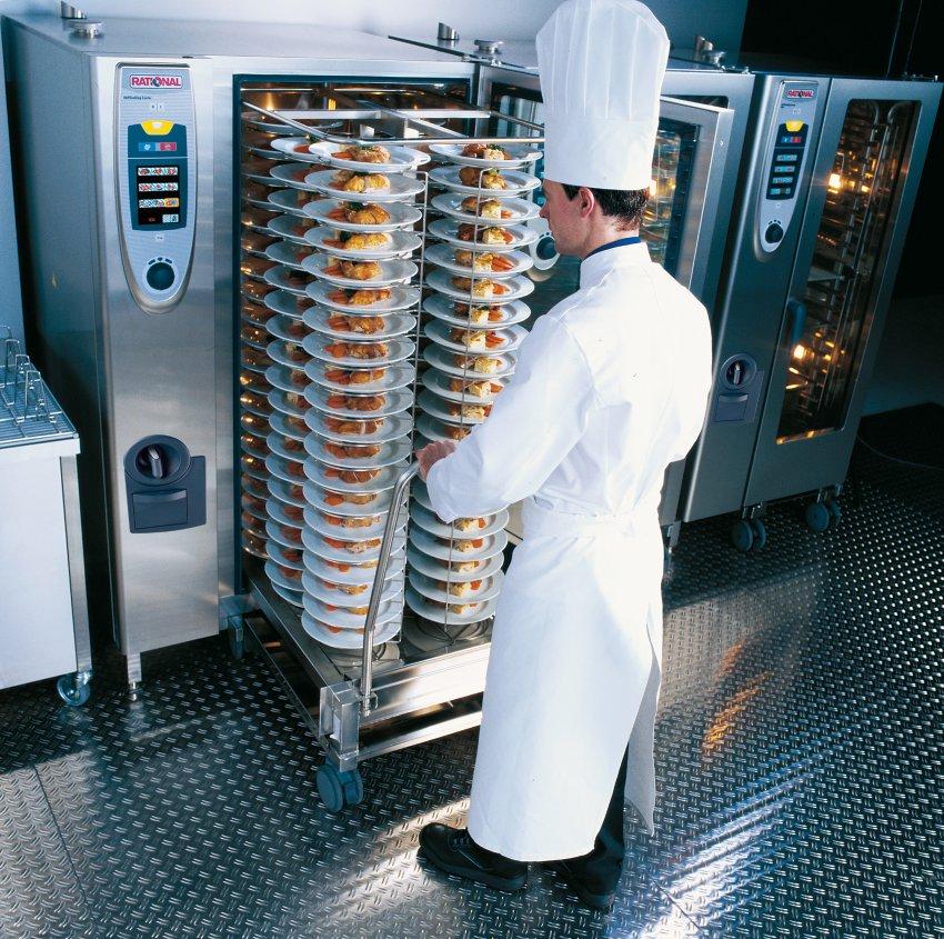 Rational AG para empresas de catering