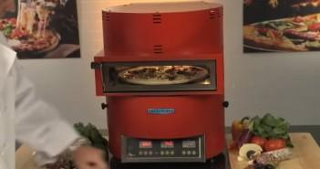 Turbochef Fire Oven: Pizzas en 90 segundos!