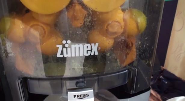 Máquinas exprimidoras de naranjas Zumex