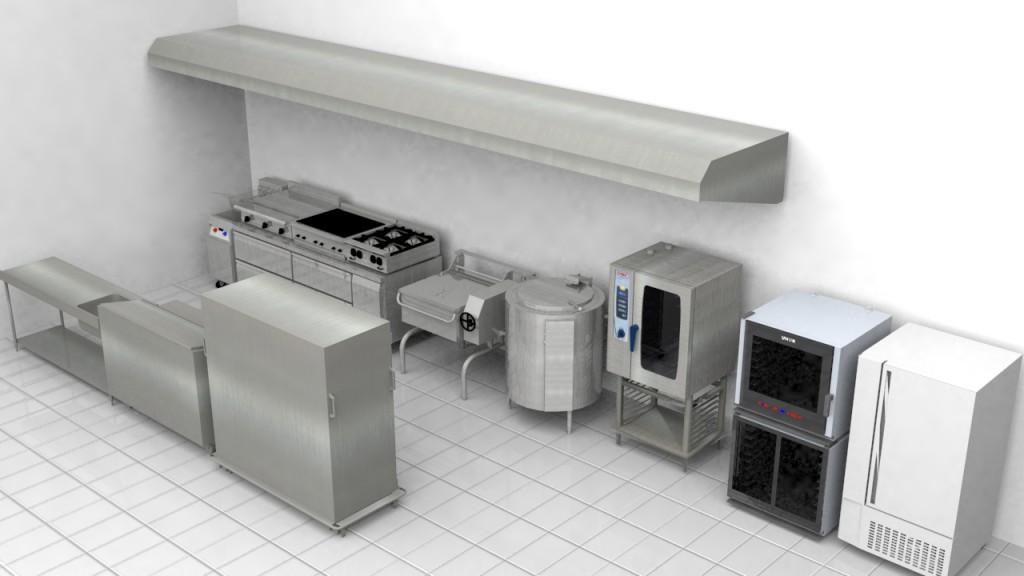 Rea de cocci n pallomaro valoramos la alimentaci n for Material cocina industrial