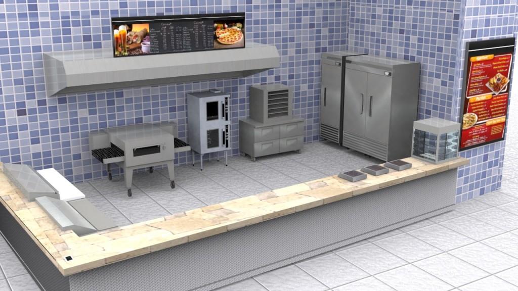 Rea de cocci n pallomaro valoramos la alimentaci n for Distribucion de una cocina para restaurante