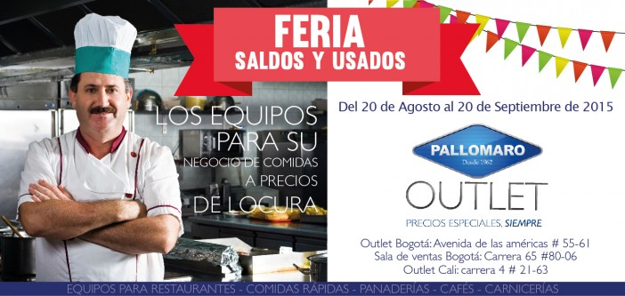 Feria Saldos y Usados Outlet Pallomaro (Agosto 20 a Septiembre 20)