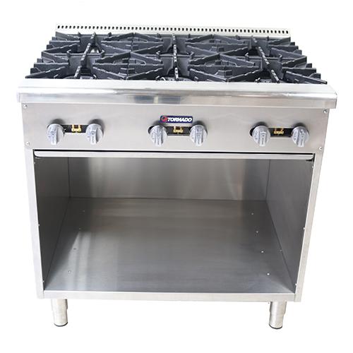 Estufa plancha y parrilla tornado cocci n para negocios for Precio cocina industrial para restaurante