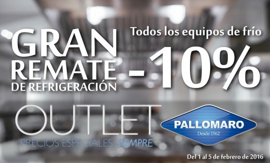 remate pallomaro outlet refrigeracion