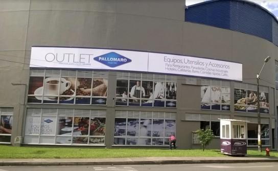 Outlet Pallomaro Medellin fachada