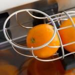 Alimentador de naranjas que puede funcionar en modo automático