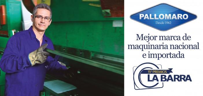 PremiosLaBarra 2016: Mejor marca maquinaria nacional e importada