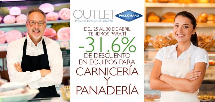 Promoción Carnicerías y Panaderías Outlet Pallomaro
