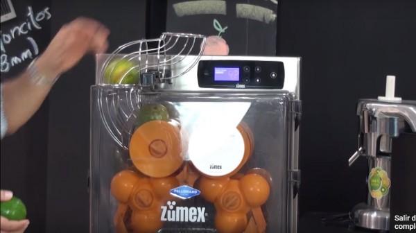 Exprimidoras de naranja Zumex en Centro de experiencia Pallomaro Cali