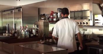 hotel las camelias cocina