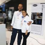 los chefs Juan Carlos y Ana María