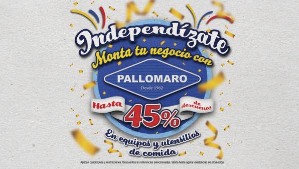 Independízate: Monta tu negocio de comidas con el Outlet Pallomaro