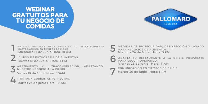 Inscripción Webinars Pallomaro
